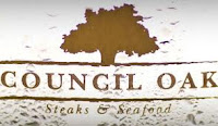 The Council Oak Steakhouse is inside the Seminole Hard rock Casino and hotel in Tampa, Florida
