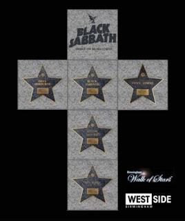 BLACK SABBATH: Παγκάκι στο Birmingham προς τιμή τους