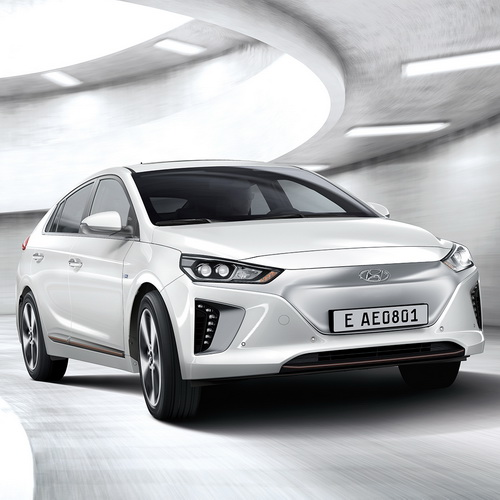 Tinuku Hyundai IONIQ unveil hybrid, plug-in hybrid and all-electric models in autonomous self-driving system technology