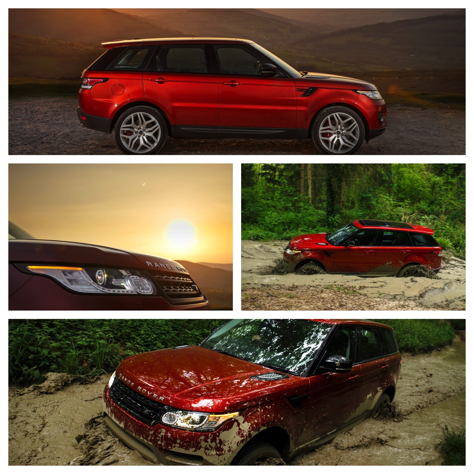 The New Range Rover Sport // Larger Size Evoque
