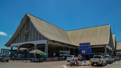 Friendship bridge in Vientiane