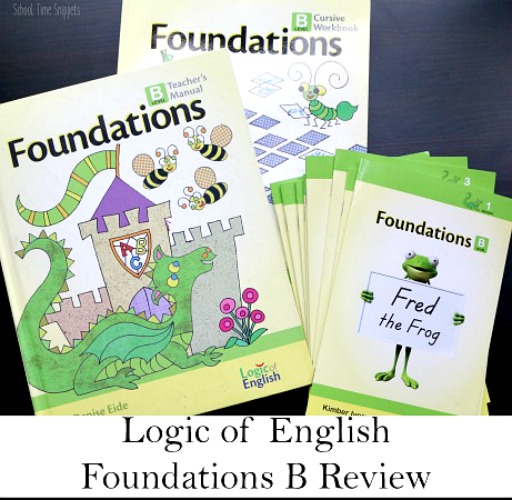 Logic of English Foundations Curriculum Review from School Time Snippets