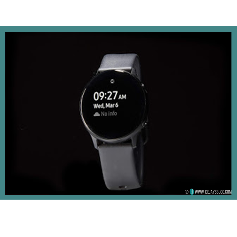 new product cbdaf 6a66d SAMSUNG GALAXY WATCH ACTIVE REVIEW - DE JAY'S BLOG