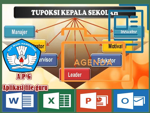 Contoh TUPOKSI Kepala Sekolah Lengkap Dengan RKJM dan RKT Format Words