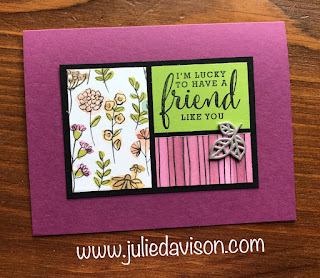 Stampin' Up! Love What You Do ~ 2018-2019 Annual Catalog ~ Share What You Love DSP ~ www.juliedavison.com
