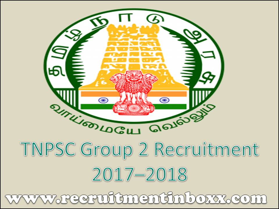TNPSC Group 2 Recruitment
