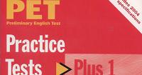 Book 4 Joy: PET Practice Test Plus 1