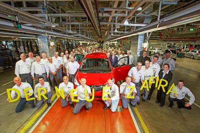 Ξεκίνησε η παραγωγή του νέου Opel Zafira στο Rüsselsheim