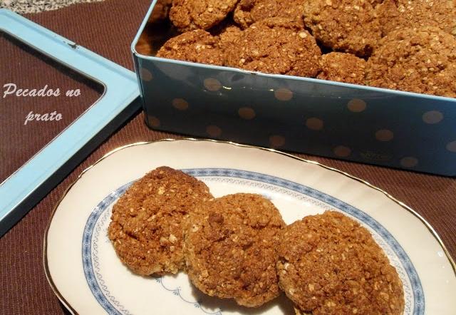 Receita de biscoitos de sementes integrais