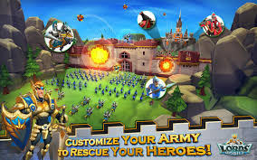 Download Gratis Lords Mobile v1.33 Mod Apk + Data Terbaru 2016