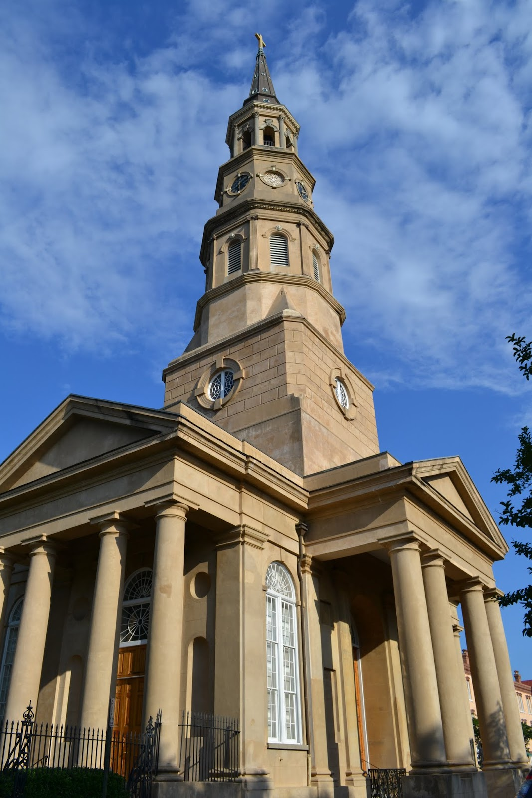 Церковь Святого Филлипа. Чарльстон, Южная Каролина (St. Philip's Church. Charleston, SC)