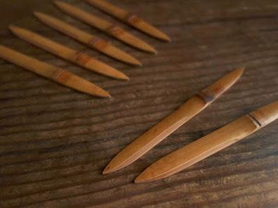 煤竹の菓子切「ささのは」は名古屋のAnalogue Lifeへ