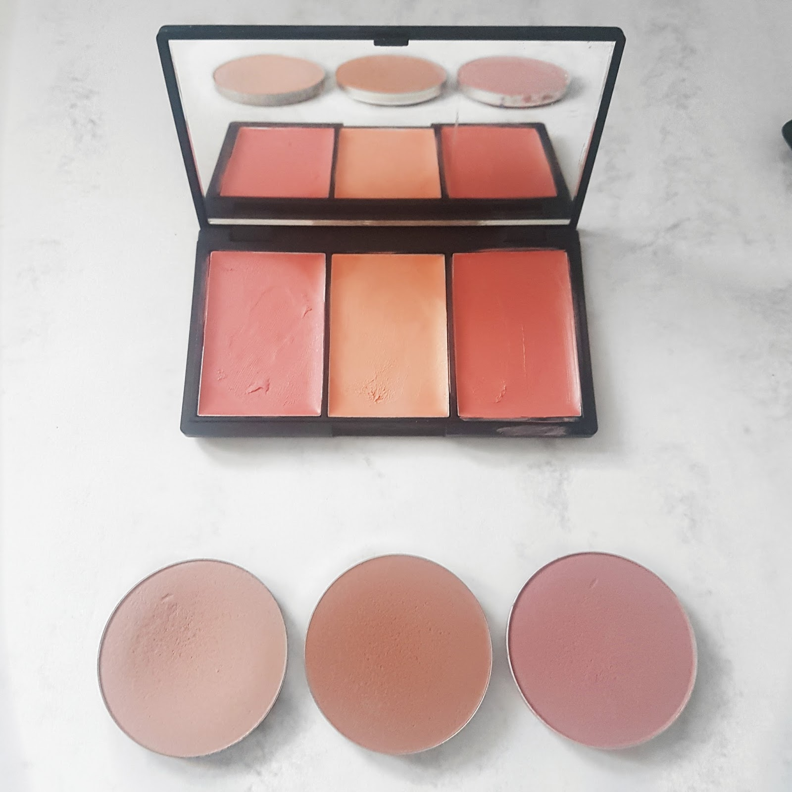 Selection of Cream and Powder Blushers