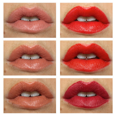 Rimmel 15th Anniversary Kate Lasting Finish Lipsticks rose gold rock 'n' roll nude my nude soho nude muse red idol red retro red review swatch swatches