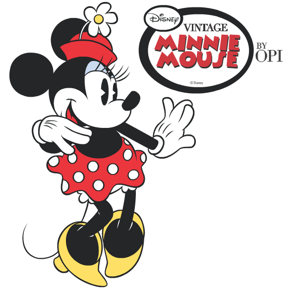 FOCUS ON HAIR: Minnie Mouse Vintage Nails by OPI