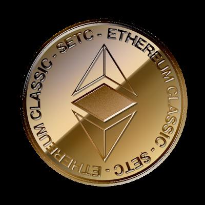 イーサリアム・クラシック(Ethereum Classic)のフリー素材(銅貨ver)