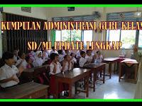 Download Aplikasi Perangkat Administrasi Guru Kelas SD