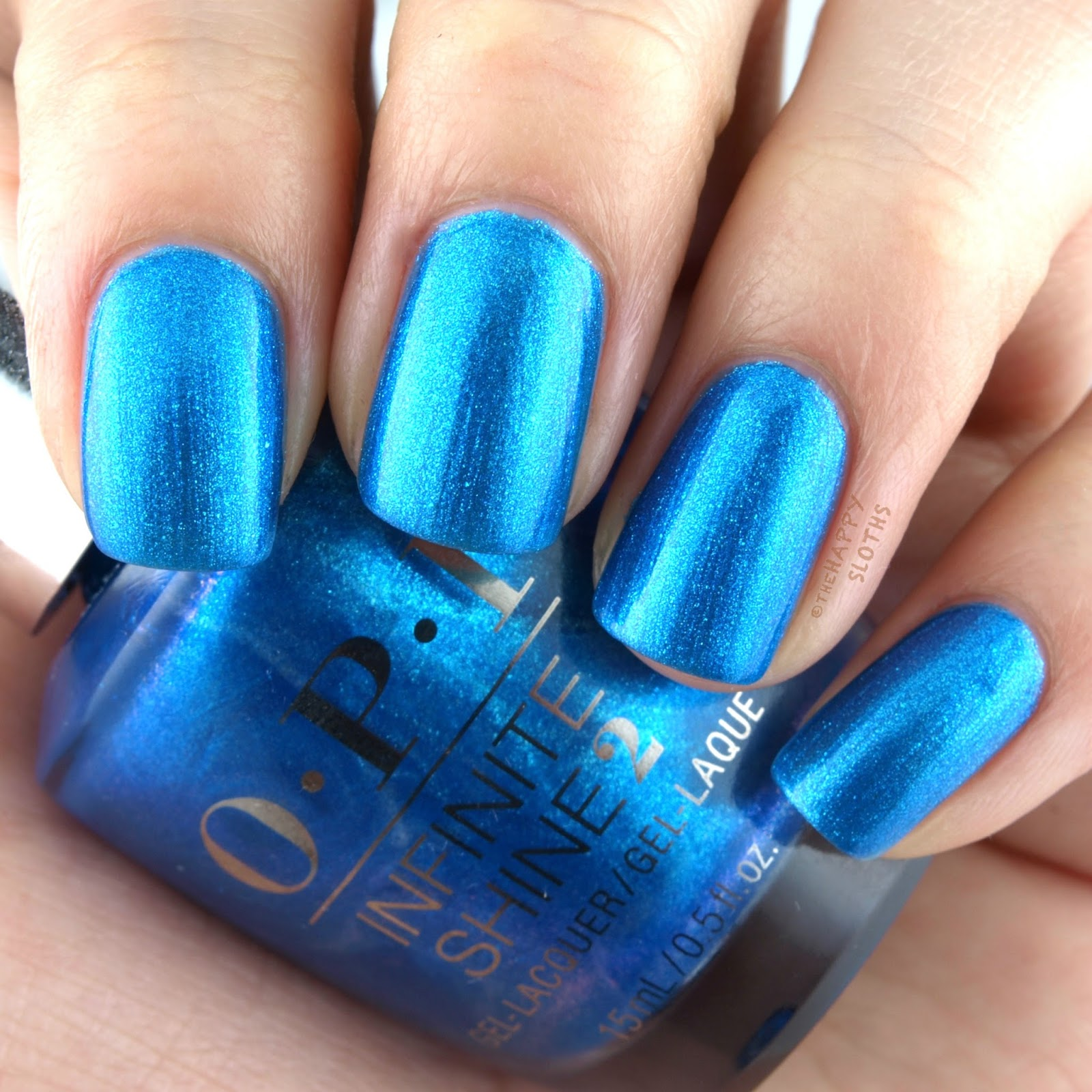 OPI Fiji Do You Sea What I Sea Swatches and Review