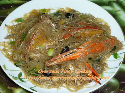 Crab with Sotanghon