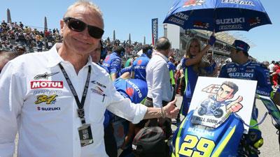 Kritikan Pedas Dari Legenda Suzuki Kepada Andrea Iannone, Hooot Pakdhee...!