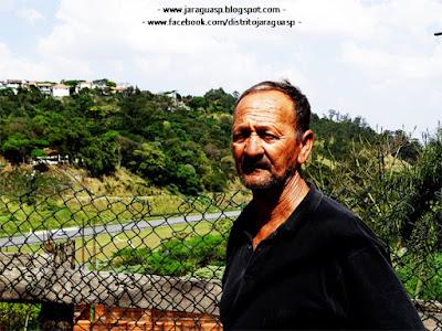 Benedito Gaudino, 73, mora na Vila Chica Luisa há 40 anos