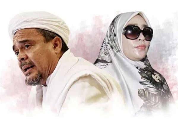 habib rizieq dan Firza Husein