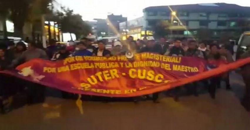 SUTER Cusco reinició huelga en demanda de incremento de sueldos a 1 UIT