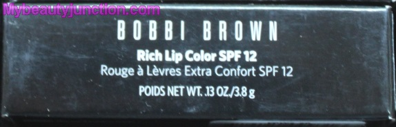 Bobbi Brown Rich Lip Color in 26 Wild Rose review, swatches