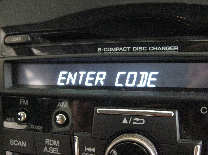 Radio Codes Calculator: Honda Radio Code Calculator
