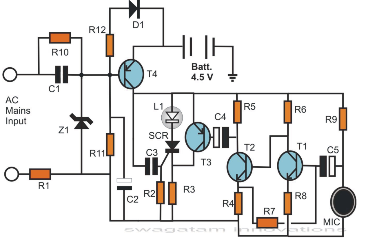 Simple Hobby Electronic Circuits Homemade Circuit Designs Just Electronics Analysis Free Using