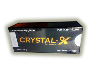 Distributor Resmi Kristal X Untuk Pria