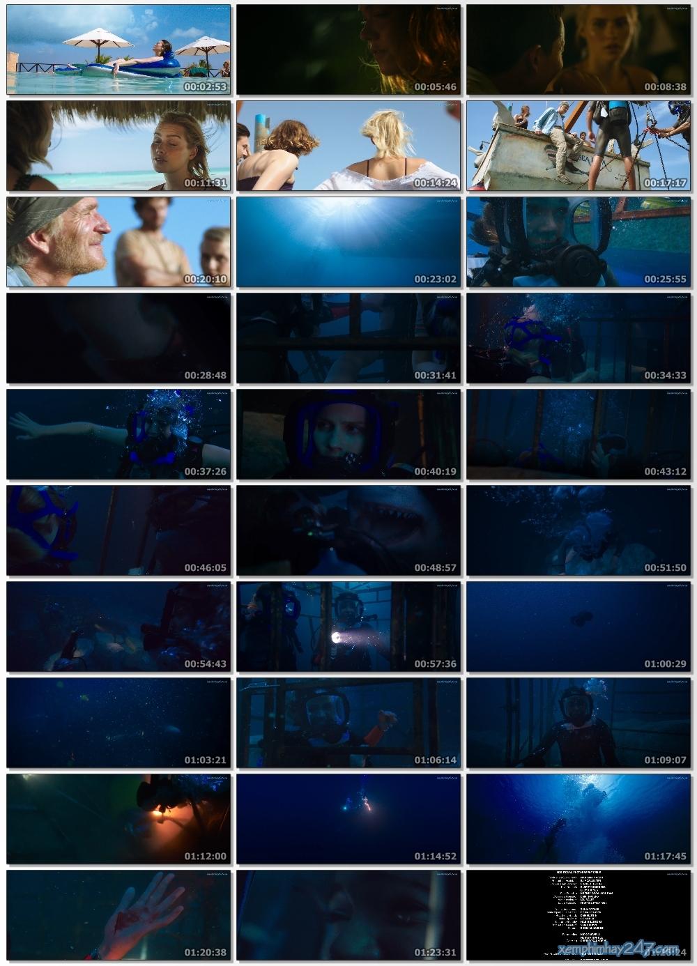 http://xemphimhay247.com - Xem phim hay 247 - Hung Thần Đại Dương (2017) - 47 Meters Down (2017)