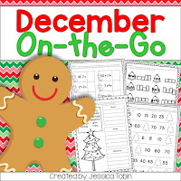 https://www.teacherspayteachers.com/Product/December-Printables-991403