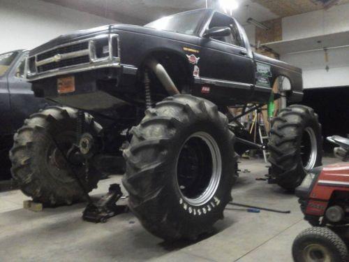 S 10 Blazer Mega Mud Truck For Sale In Texas