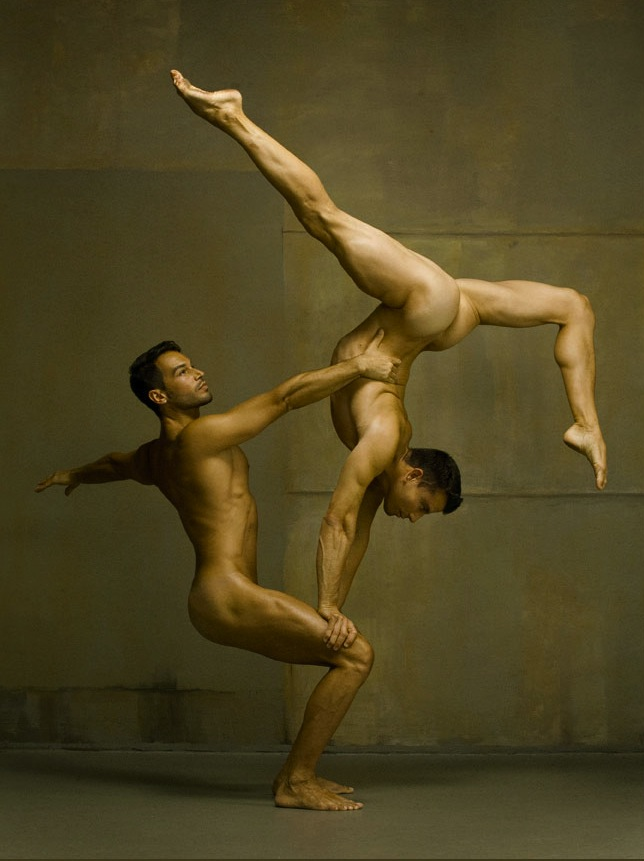 Naked men dancing #3