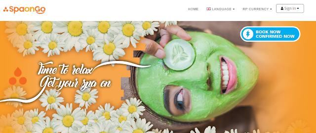 Aplikasi Mobile SpaOnGo Untuk Pesan Spa di Bali