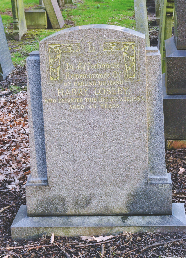Harry Loseby grave
