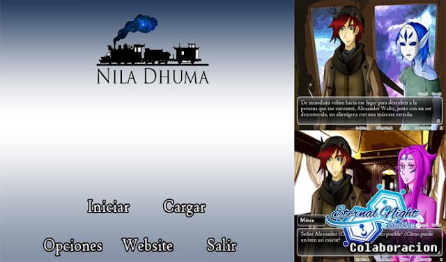 Nila Dhuma - Novela cinética [Eternal Night Studios]