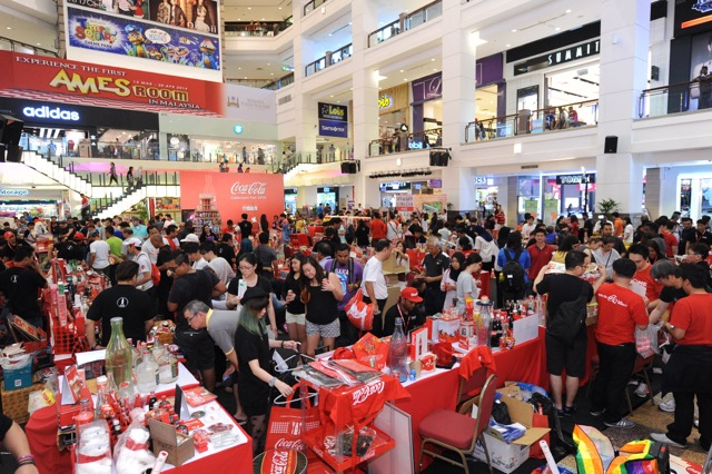 Coca-Cola Collectors Fair 2018, FIFA World Cup Russia 2018, Coca-Cola Malaysia, Fifa World Cup, Fifa 2018,  berjaya times square