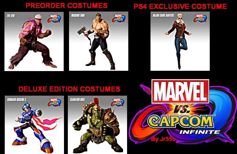 Marvel vs Capcom Infinite PS4 [All DLC] [EUR-USA] [FakePkg