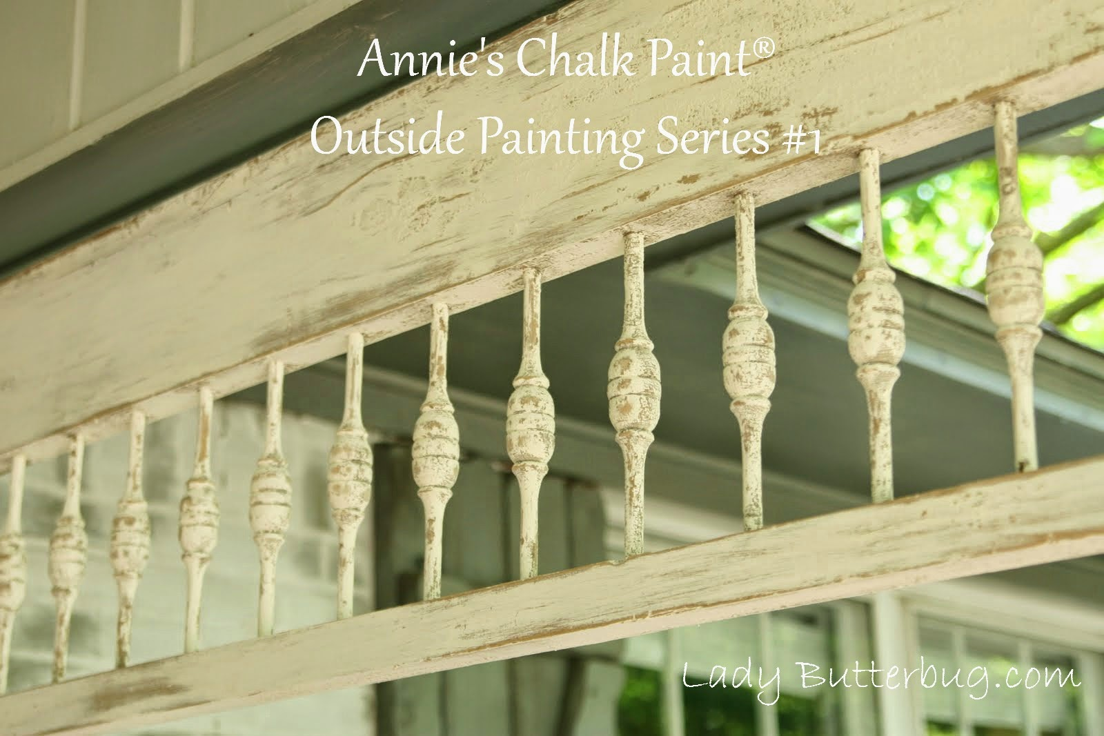 Outside Chalk Paint® Project #1