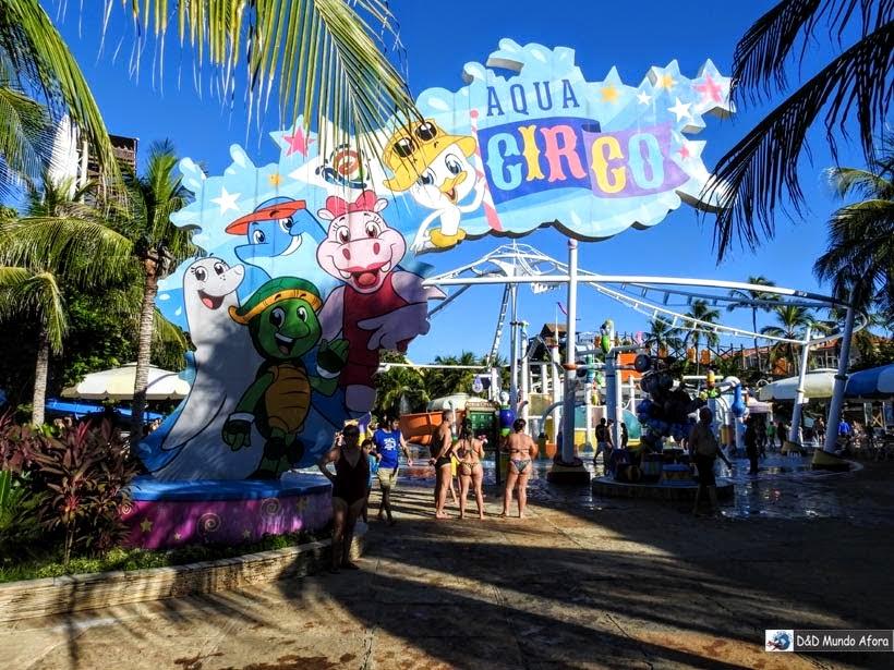 Aqua Circo - Beach Park - parque aquático do Ceará