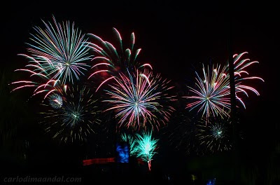 Philippine Pyromusical Competition At The SM Mall of Asia MOA - Team Australia