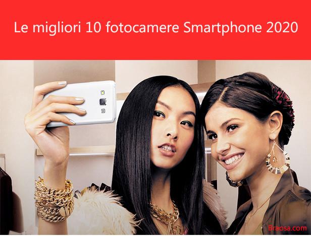 Le migliori fotocamere su telefoni smartphone del 2020