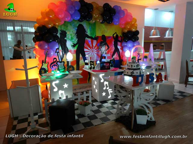 Discoteca ou tema Balada para aniversário teen