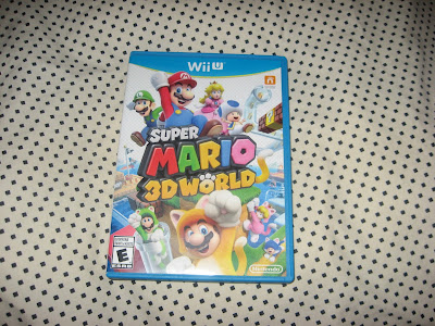 Super Mario 3D World jewel case box art