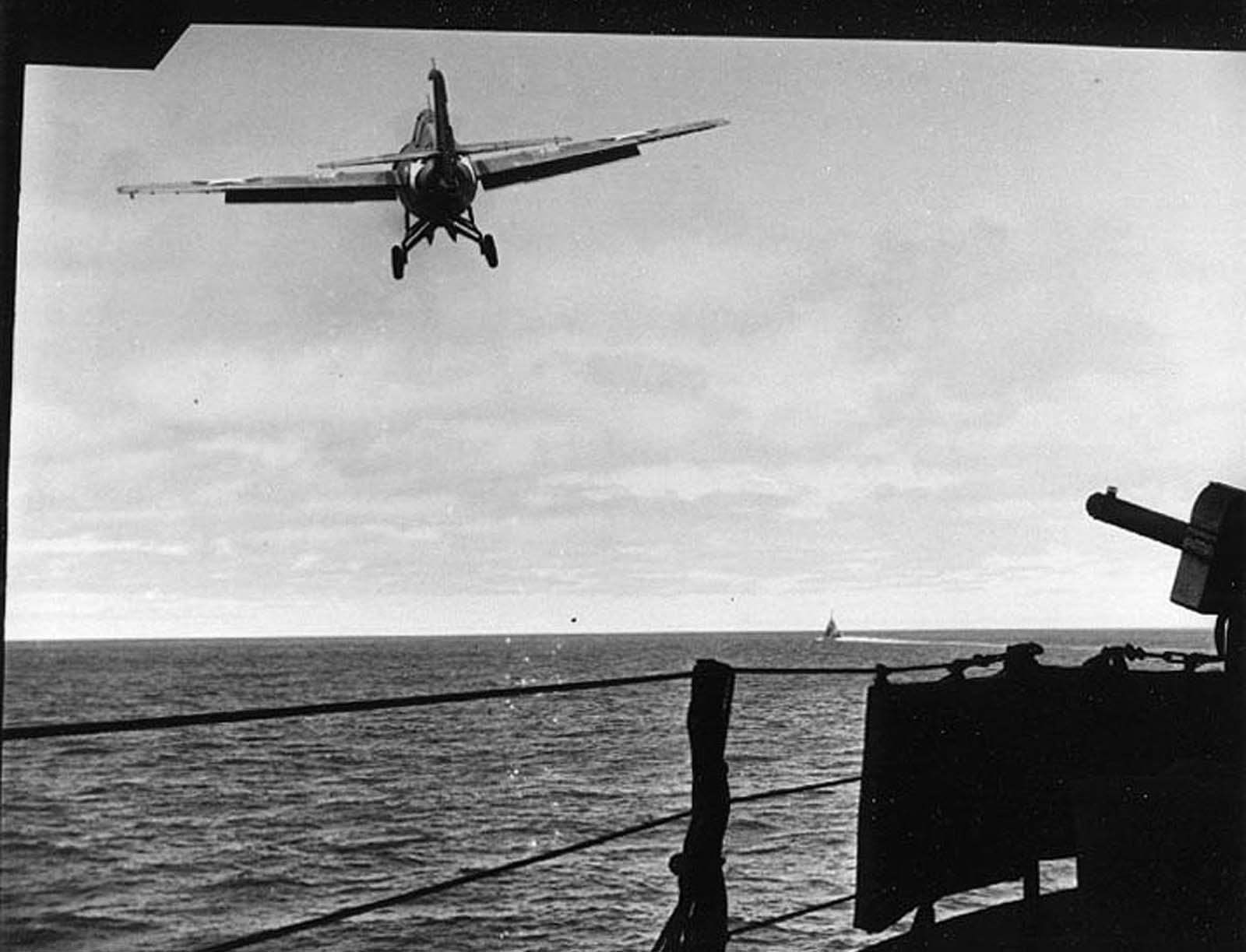 A Grumman F4F-4