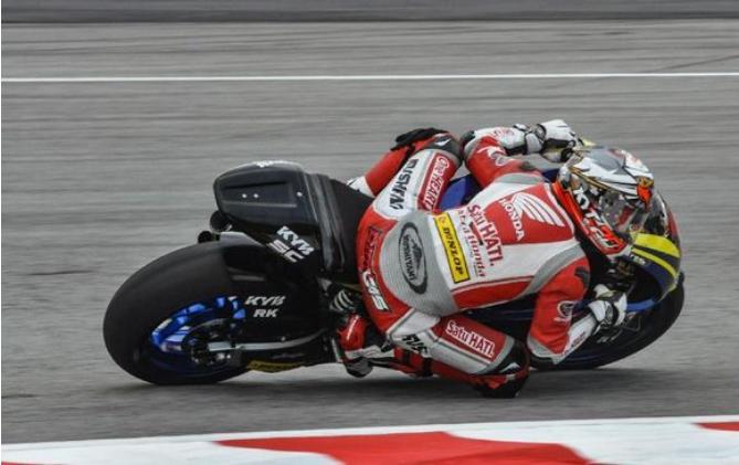 Pebalap Moto2 Indonesia Dimas Ekky Beruntung Tidak Cedera Parah Di Spanyol 2019