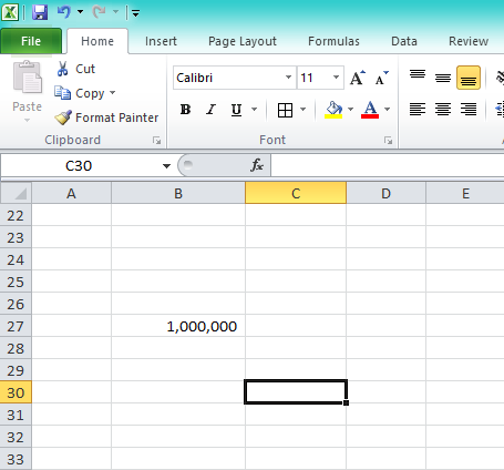 Date function in excel 2016