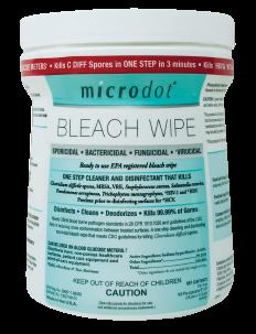Microdot Bleach Wipes